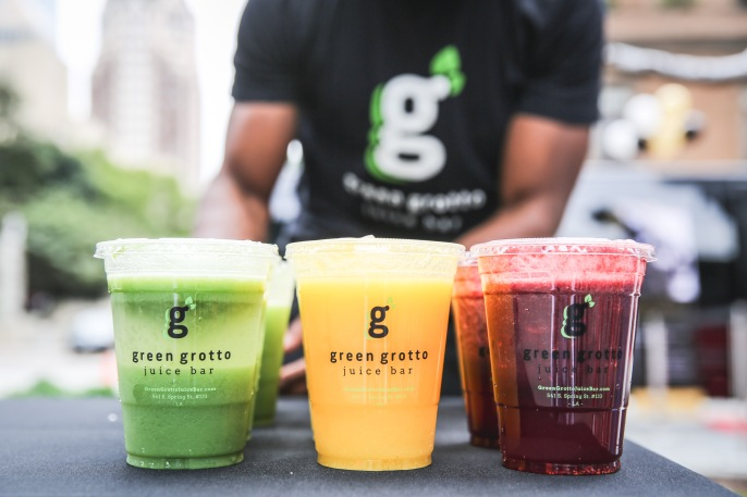 Green Grotto juices