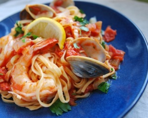 Pasta-Diablo-with-Clams-and-Shrimp1